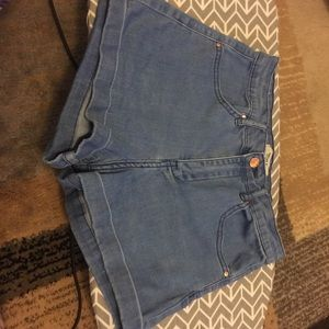 High Waisted Jean Shorts from Forever21